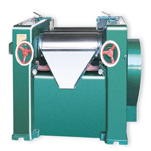 High Efficiency Three Roller Grinder for Chemicals