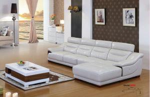 Italian Leather Sofa Set, Corner Sofa, Leather Sofa Factory (608) pictures & photos