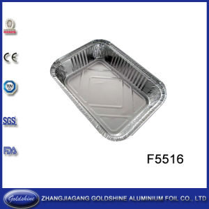 Household Aluminum Foil Tray (F5516) pictures & photos