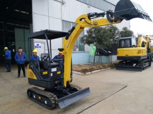 CT18-9ds (1.8T) Multifunction Mini Excavator with Half Zero Tail, Cabin, Retractable Chassis pictures & photos