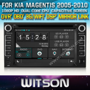 Witson Car Radio with GPS for KIA Magentis (W2-D8527K) pictures & photos