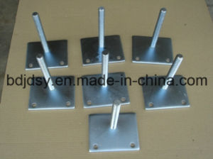 Processing Welding Foot with Zinc Plated pictures & photos