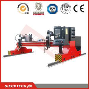 China Siecc Heavy Double Column Type CNC/Nc Plasma and Flame Cutting Machine Cutter Zm1-4060-HD pictures & photos