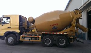 10m3 HOWO Concrete Mixer Truck pictures & photos