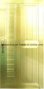 Aluminum Solid Doors in Golden Color pictures & photos