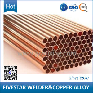 Hard Copper Alloy Tube for Welding pictures & photos