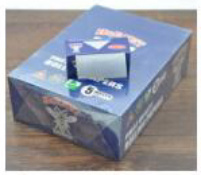 Blue White 5 Meter Smoking Rolling Paper 24 Roll/Box (ES-RP-058) pictures & photos