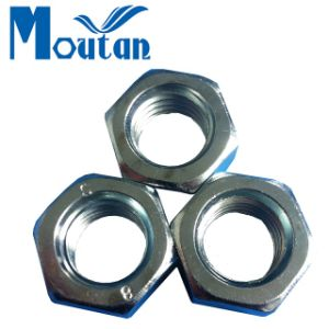 Carbon Steel Hex Nuts with DIN934 Zinc Plated
