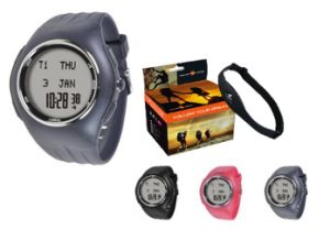 2.4GHz Wireless Heart Rate Monitor with Calorie/Stopwatch /Timer (DHF-11)