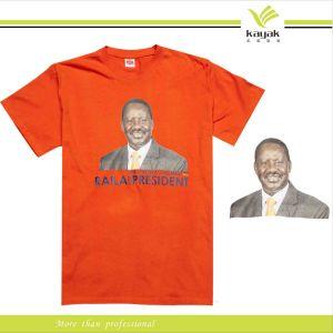 China custom cheap digital printing t shirt for campaign for Custom t shirt digital printing
