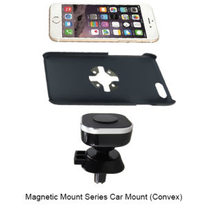 Magnetic Car Mount Convex Phone Case Stand with iPhone pictures & photos