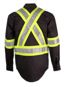 UL Certificates Flame Retardant and Arc Flash Welding Protective Shirt Clothing pictures & photos