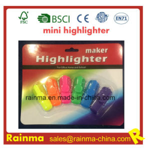 2016 Hot Sell Promorion Mini Highlighter with Custom Logo pictures & photos