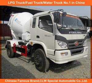 Foton Forland 4X2 4cbm Mini Concrete Cement Mixer Truck pictures & photos