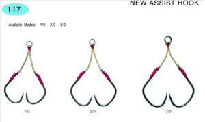 Fishing Hook /New Assist Hook/Stainless Steel and High Carbon Hook117; 140