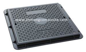 EN124 A15 600x600 SMC Manhole Cover with Screw Lock pictures & photos