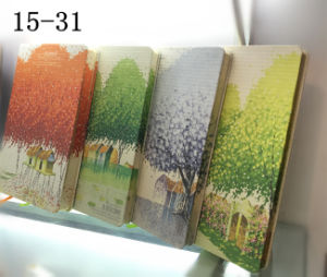 Printed PU Cover Diary/Journal/ Agenda/Leather Cover Notebook