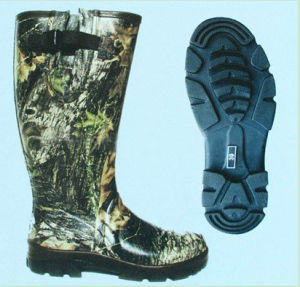 Waterproof Fishing Hunting Camo Rubber Boots (DH-01) pictures & photos