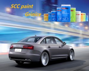 Auto Paint Base Coatings 1k Medium Sparkling Silver Color Coatings pictures & photos