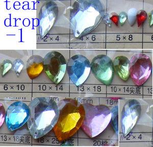 Acrylic Tear Drop Bead
