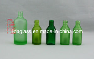 Hot Sale Green Glass Essential Oil Bottles