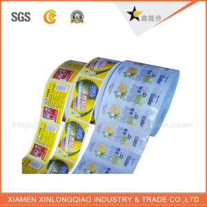 Transparent PVC Paper Seal Decal Carton Boxes Label Printing Sticker pictures & photos