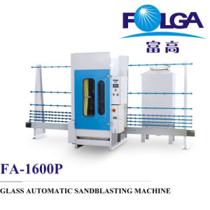 Fa-1600 Glass Automatic Sandblasting Machine pictures & photos