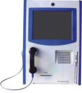 Phone Handset Touch Kiosk