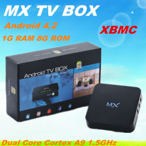 2015 Hot Original Mx2 Android TV Box Arabic TV Channels