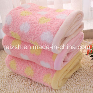 Home Essential Coral Fleece Double Thick Blanket pictures & photos