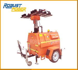 Fuel Capacity 100L Generator Light Tower for Sale pictures & photos