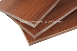 Chinese Melamine Faced MDF (Medium-density Fibreboard) for Furniture pictures & photos