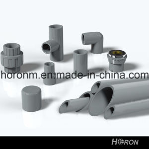 CPVC Sch80 Water Pipe Fitting (90 DEG FAMALE COPPER THREAD ELBOW) pictures & photos