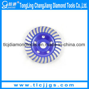 Turbo Diamond Grinding Abrasive Cup Wheel, Abrasive Grinding Wheel pictures & photos