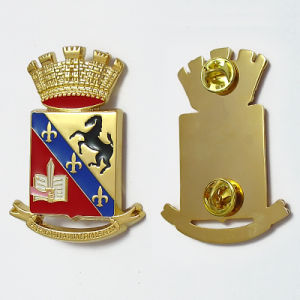 Custom Made Enamel Pin in Gold Plating (PN016)