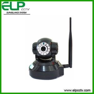 1.3 Megapixel (720P) Lovely Robot Style Wirless Infrared Indoor IP Camera, Two Way Audio, 10m IR Nightvision Distance, PT Control