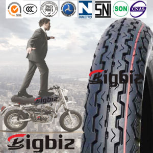 China Good Tubeless Rubber Motorcycle Tyre 80/90-17 pictures & photos