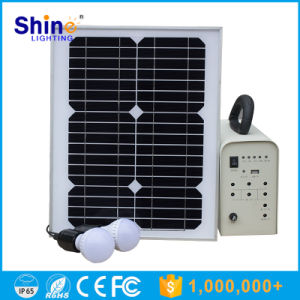 10W 20W 50W 100W Rechargeable LED Solar Power System Light for Home/off Grid Solar Power System /DC Abd AC Solar Power System pictures & photos