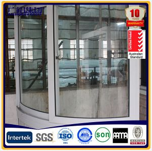 Aluminium Curved Windows Aluminium Balcony Bay Windows pictures & photos