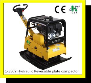 Professional Reversible Hydraulic Plate Compactor with 40kn (C-330AY) pictures & photos