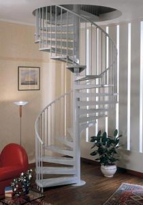 Carbon Steel Staircase Spiral Stairway pictures & photos