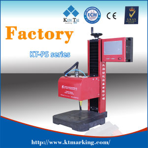 CNC Benchtop Pneumatic DOT Pin Marking Machine pictures & photos