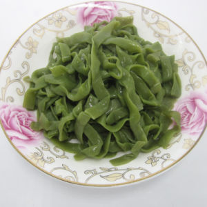 Low Calorie Spinach Fettuccine Pasta with Brc Certificate pictures & photos