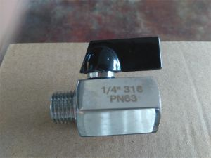 Female Thread Mini Ball Valve pictures & photos
