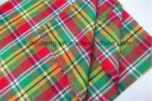 Cheap Wholesale Fashion Checks Yarn Dyed Clothing Fabric