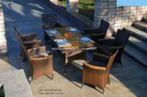 Outdoor Wicker Rattan Garden Set