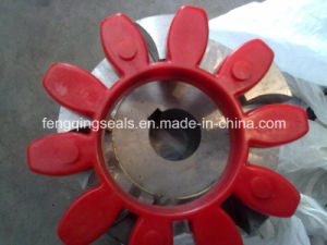 High Transmission Flange Flexible PU Rubber Couplings Spider Plum Mat pictures & photos