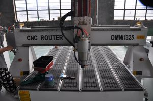 Omni 1224 CNC Wood Engraving Router with Rotary Mould Making Machine pictures & photos