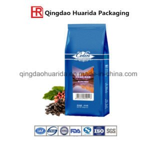 Flat Bottom Ziplock Bag Aluminium Foil Bag for Coffee Packaging pictures & photos