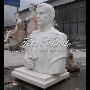 White Carrara Bust for Gift Ms-2001 pictures & photos